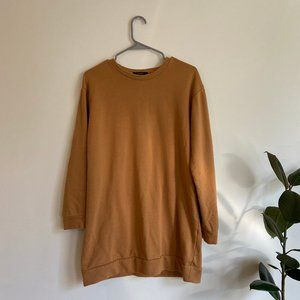 Forever 21 Terracotta-Colored Sweater Dress
